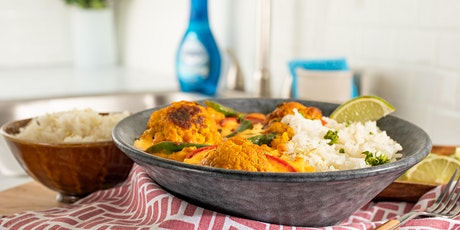 FREE Cooking Class: Charred Cauliflower Panang Curry with Lemongrass Rice tickets