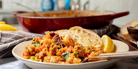 FREE Cooking Class: Chicken and Spanish Chorizo Paella tickets