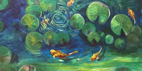 Chill & Paint Friday Night  Auck City Hotel  - Water Lily & Koi! tickets