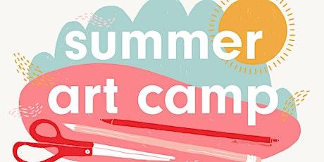 Summer Art Camp for Kids tickets
