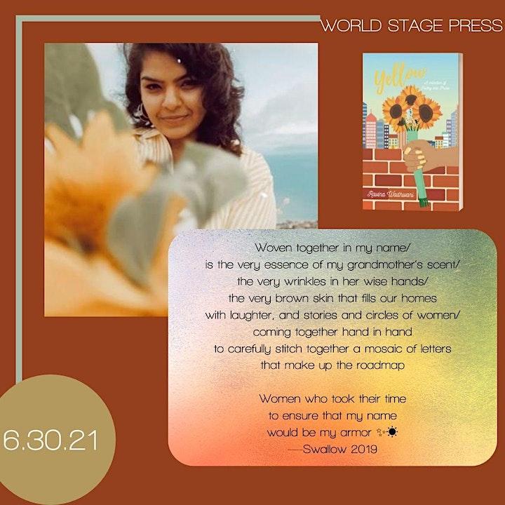 Yellow by Ravina Wadhwani Book Release image