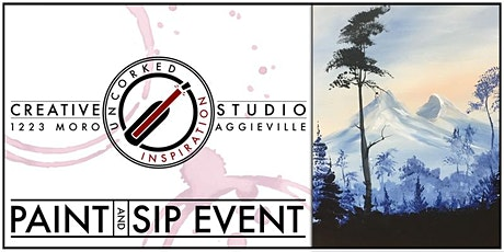 Paint & Sip | Distant Mountains tickets
