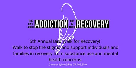 5th ANNUAL 5K BIRD WALK FOR RECOVERY tickets
