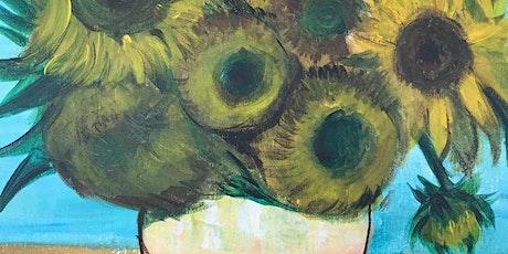 Chill & Paint Friday Night  Auck City Hotel  - Van Gogh Sunflower! tickets