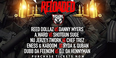 """The Battle Academy Presents """"NO REMORSE: RELOADED"""" tickets"""