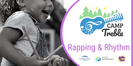 Rapping & Rhythm Camp (ages 7 -11) tickets