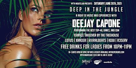 Saturday Night - DEEP IN THE JUNGLE at Myth Nightclub | Saturday 06.19.21 tickets