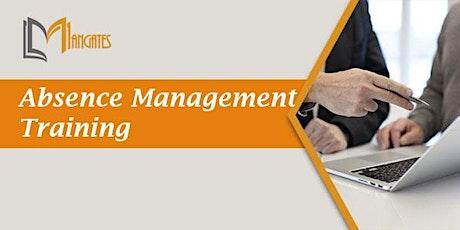 Absence Management 1 Day Training in Manaus ingressos