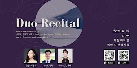 Duo Recital tickets