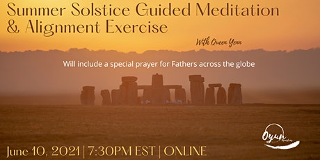 Summer Solstice Guided Meditation & Alignment Exercise tickets