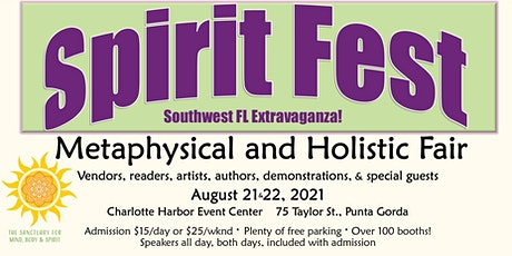 Spirit Fest Metaphysical & Holistic Fair - Southwest Florida tickets