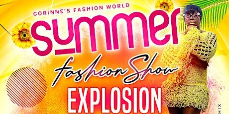 SUMMER FASHION SHOW EXPLOSION tickets