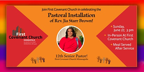 Installation Service for Rev. Jia Starr Brown tickets