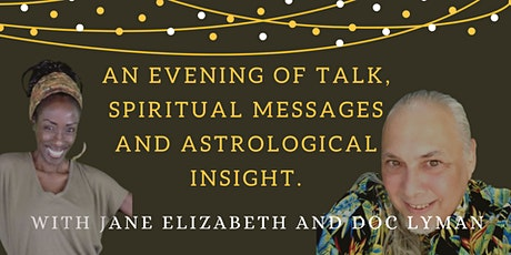 An evening of talk, spiritual messages and astrological insight tickets