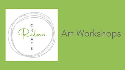 Create, Relax - art workshops tickets