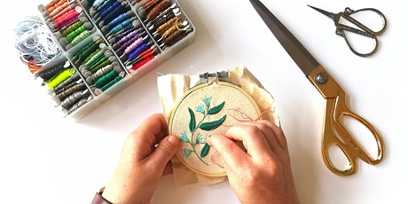 Embroidery For Beginners tickets