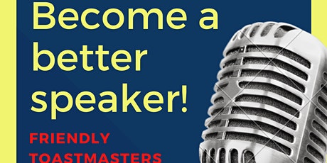 Friendly Toastmasters Club tickets
