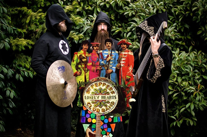 Psychedelic Beatles Night with Rhomboid image