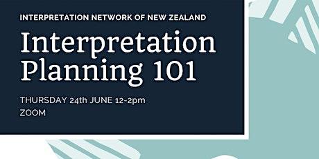 Interpretation Planning 101 tickets