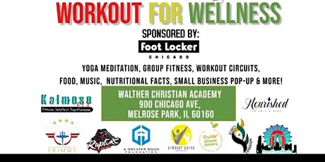 #LetsGrowTogether Workout for Wellness tickets