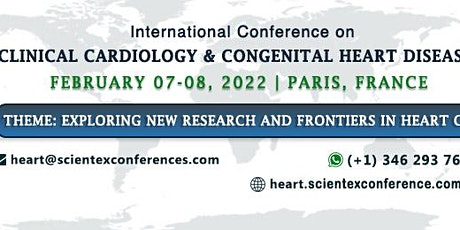 International Conference on Clinical Cardiology & Congenital Heart Disease billets
