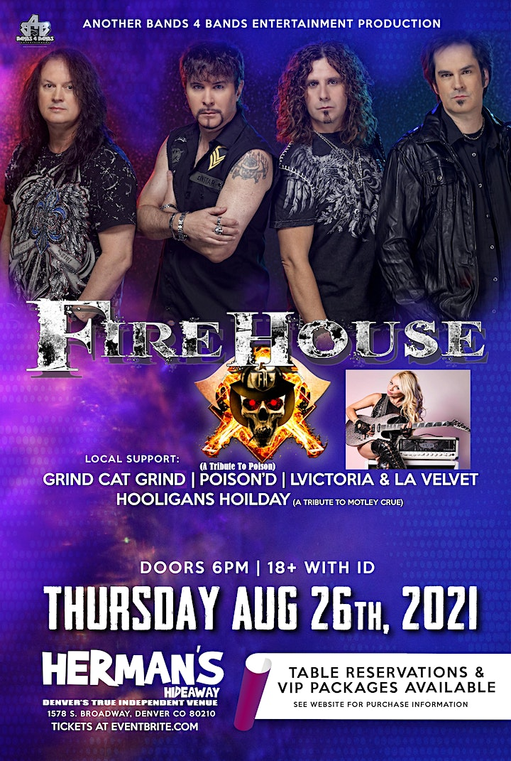 FIREHOUSE is BACK! image