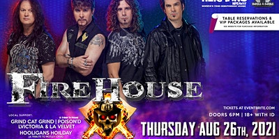 FIREHOUSE is BACK!