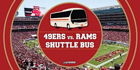 Levi's Stadium Shuttle Bus: 49ers vs. Rams tickets