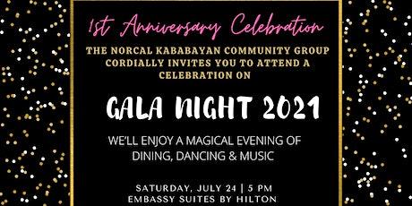 NorCal Kababayan Gala Night 2021 tickets