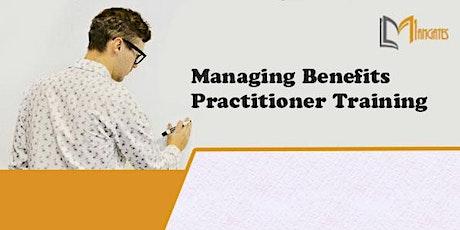 Managing Benefits Practitioner Virtual Training in Leon de los Aldamas tickets