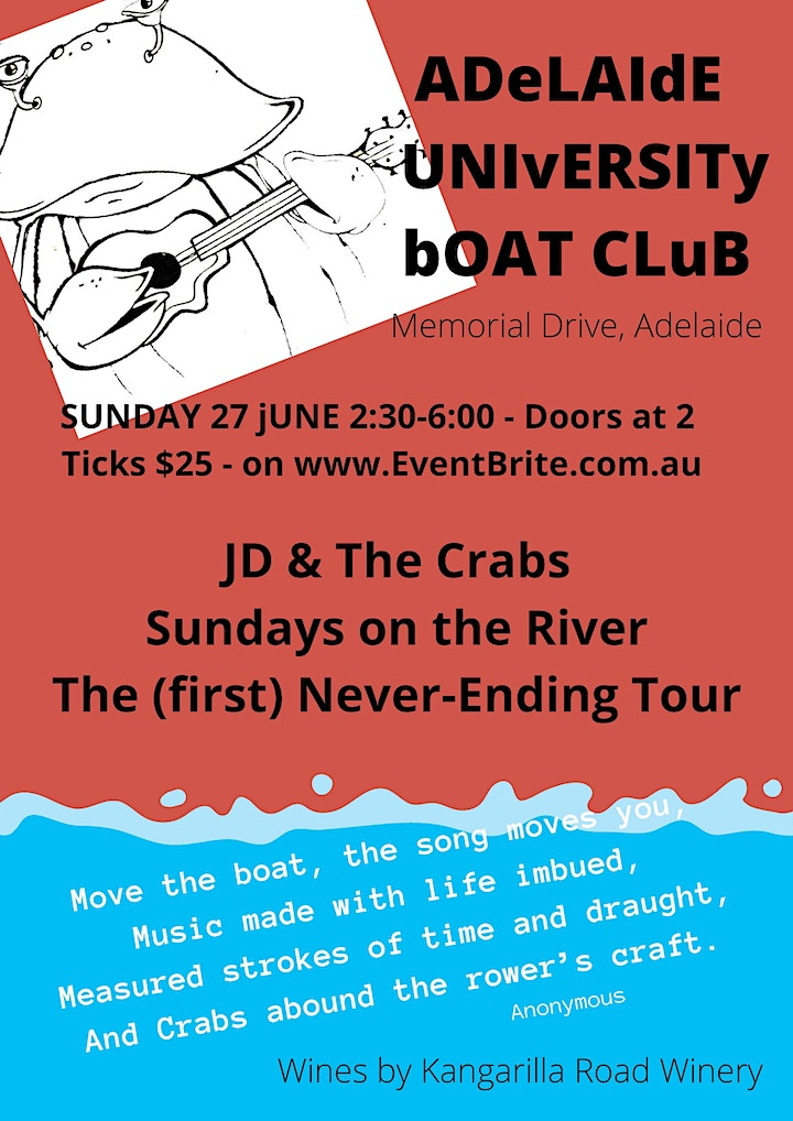 JD & The Crabs  - The (first) Never-Ending Tour image