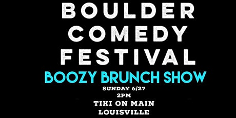 Boulder Comedy Festival tickets