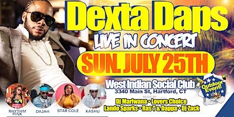 Dexta Daps Hartford tickets