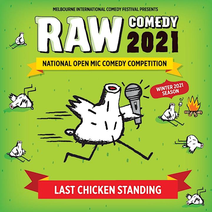 Raw Comedy 2021 HEAT 2 image