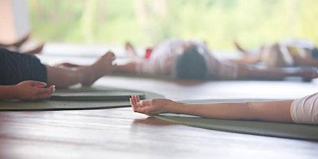 Outdoor Yoga Workshop in Mutton Lane Studio June 19th tickets