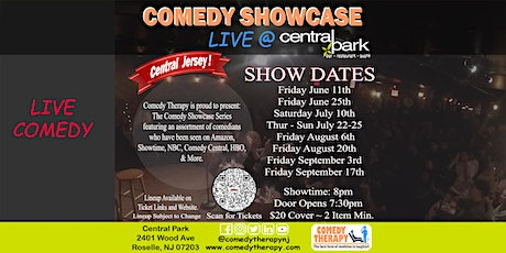 Central Jersey Comedy Showcase Live @ Central Park NJ - August 20th, 8pm tickets