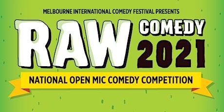 Raw Comedy 2021 HEAT 2 tickets