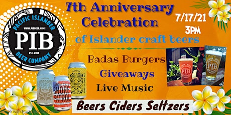 7th Anniversary Party  Sat 17th tickets