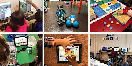FabLabKids: Entdecke die Welt der Roboter und Programmierer 4.0  Feriencamp Tickets