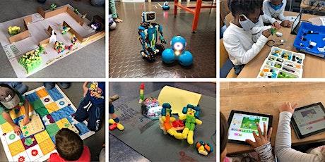 FabLabKids: Robotik-Schnupperkurs Programmieren (5 - 8 Jahre) Tickets