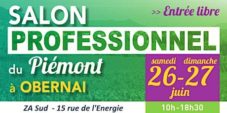 Salon Professionnel du Piémont 2021 billets