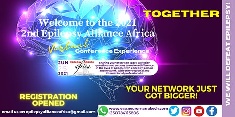 The 2nd Epilepsy Alliance Africa Virtual Conference (EAA C2) tickets