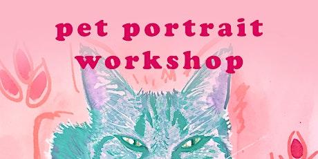 Pet Portrait Workshop tickets