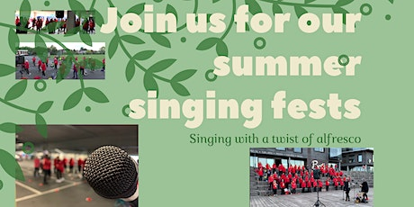 Cleethorpes Outdoor Sing fest tickets