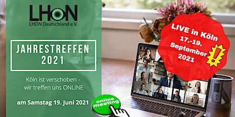 LHON Deutschland - online Jahrestreffen Tickets