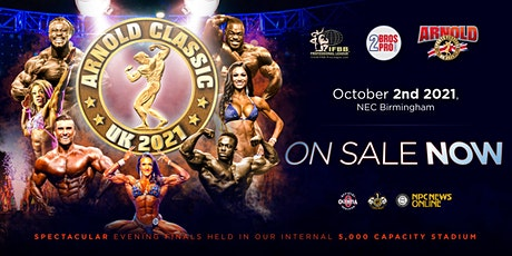 Arnold Classic UK Body Building Finals tickets