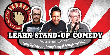 Learn stand-up comedy in Melbourne this July with Doug Chappel tickets