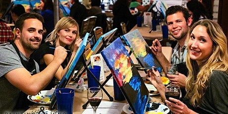 Paint and Sip Party The Vic Whitley Bay tickets