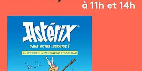 Jouez en famille avec Astérix billets