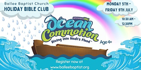Ocean Commotion Holiday Bible Club @ Ballee Baptist Church tickets